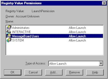Implementing a Multiuser DCOM Application - COM, COM+
